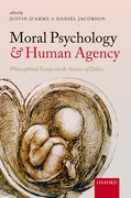 Cover for Moral Psychology and Human Agency