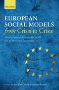 Cover for European Social Models From Crisis to Crisis: