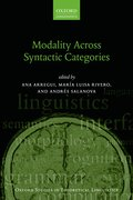 Cover for Modality Across Syntactic Categories