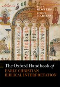 Cover for The Oxford Handbook of Early Christian Biblical Interpretation