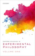 Cover for Oxford Studies in Experimental Philosophy