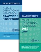 Blackstone's Police Operational Handbook 2015: Law & Practice and Procedure Pack