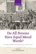 Cover for Do All Persons Have Equal Moral Worth?