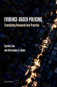 Cover for Evidence-Based Policing