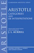 Cover for Categories and De Interpretatione