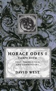 Cover for Horace: <i>Odes</i> I: Carpe Diem