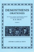 Cover for Demosthenis Orationes