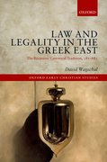 Cover for Law and Legality in the Greek East