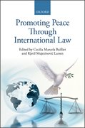 Cover for Promoting Peace Through International Law