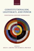 Cover for Constitutionalism, Legitimacy, and Power