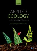 Cover for Applied Ecology - 9780198723288