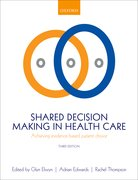 Cover for Shared Decision Making in Health Care