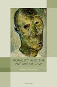 Cover for Morality and the Nature of Law