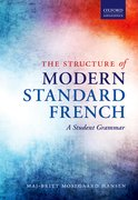 Cover for The Structure of Modern Standard French