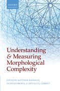 Cover for Understanding and Measuring Morphological Complexity