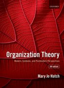 Cover for Organization Theory