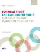 Cover for Essential Study and Employment Skills for Business and Management Students