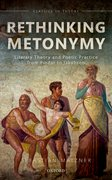 Cover for Rethinking Metonymy - 9780198724278