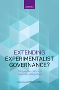 Cover for Extending Experimentalist Governance?