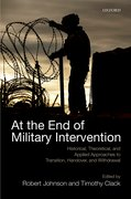 Cover for At the End of Military Intervention
