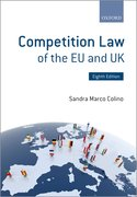 Cover for Competition Law of the EU and UK