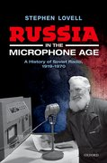 Cover for Russia in the Microphone Age