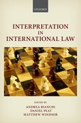 Cover for Interpretation in International Law