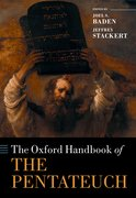 Cover for The Oxford Handbook of the Pentateuch
