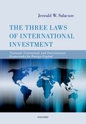 Cover for The Three Laws of International Investment