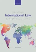 Cover for Cases & Materials on International Law - 9780198727644