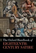 Cover for The Oxford Handbook of Eighteenth-Century Satire