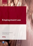 Cover for Employment Law 2015