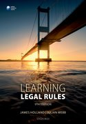 Cover for Learning Legal Rules