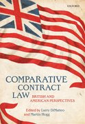 Cover for Comparative Contract Law