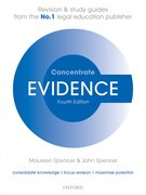 Cover for Evidence Concentrate