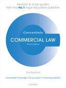 Baskind: Commercial Law Concentrate 3e