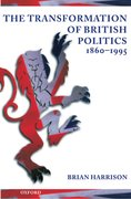 Cover for The Transformation of British Politics 1860-1995