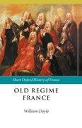 Cover for Old Regime France