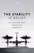 Cover for The Stability of Belief