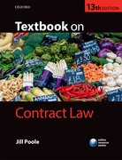 Cover for Textbook on Contract Law