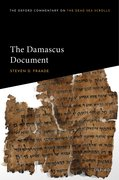 Cover for The Damascus Document