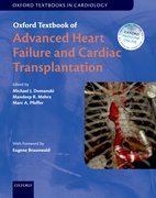 Cover for Oxford Textbook of Advanced Heart Failure and Cardiac Transplantation