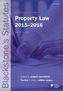 Thomas: Property Law 2015-2016
