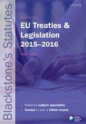 Foster: EU Treaties and Legislation 2015-2016