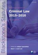 Glazebrook: Criminal Law 2015-2016