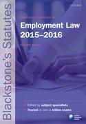 Kidner: Employment Law 2015-2016