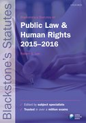 Lee: Public Law and Human Rights 2015-2016