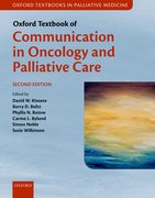 Cover for Oxford Textbook of Communication in Oncology and Palliative Care