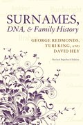 Cover for Surnames, DNA, and Family History