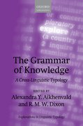Cover for The Grammar of Knowledge